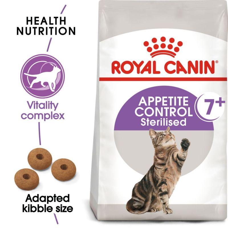 Royal Canin Appetite Control Sterilised 7+ Cat