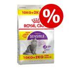 Royal Canin -bonuspakkaus: 10 kg + 2 kg kaupan päälle!