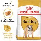 Royal Canin Breed Bulldog Adult Hrană uscată