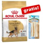 Royal Canin Breed sac mare  + 3 Barkoo Deli Sticks Dental gratis!