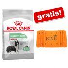 Royal Canin CARE Nutrition Hrană uscată + KING Păturică Orange L 140 cm x 70 cm gratis!