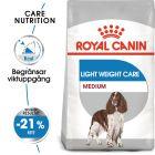 Royal Canin CCN Medium Light Weight Care