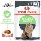 Royal Canin Digest Sensitive en sauce pour chat