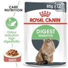 Royal Canin Digest Sensitive în sos Hrană umedă