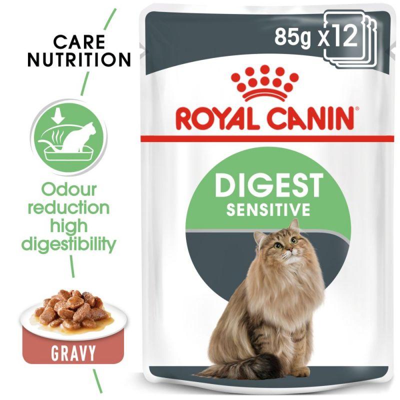 Royal Canin Digest Sensitive szószban nedvestáp