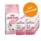 Royal Canin 400 g Kitten granule + 12 x 85 g Kitten Instinctive