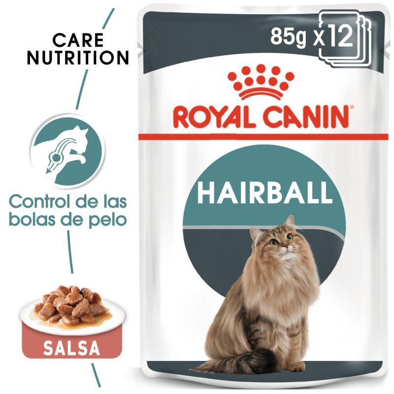 Royal Canin Hairball Care en salsa