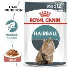 Royal Canin Hairball Care în sos Hrană umedă