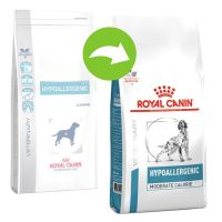 Royal Canin Hypoallergenic Moderate Calorie Veterinary Diet