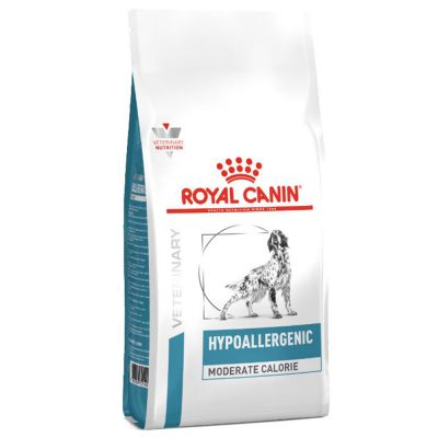 Royal Canin Hypoallergenic Moderate Calorie  - Veterinary Diet