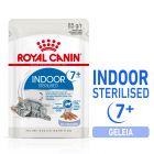 Royal Canin Indoor Sterilised 7+ em gelatina