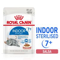 Royal Canin Indoor Sterilised 7+ en salsa