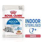 Royal Canin Indoor Sterilised 7+ en sauce