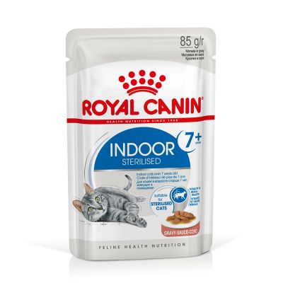 Royal Canin Indoor Sterilised 7+ en sauce