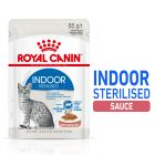 Royal Canin Indoor Sterilised en sauce pour chat