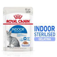 Royal Canin Indoor Sterilised in Gelatina