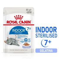 Royal Canin Indoor Sterilised 7+ in Gelatina