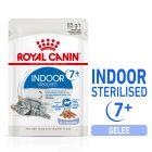Royal Canin Indoor Sterilised 7+ in Gelei Kattenvoer