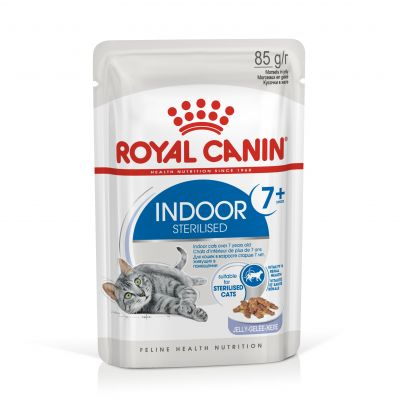 Royal Canin Indoor Sterilised 7+ in Jelly