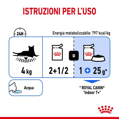Royal Canin Indoor Sterilised 7+ in Salsa