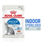 Royal Canin Indoor Sterilised Mousse Hrană umedă
