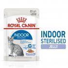 Royal Canin Indoor Sterilised în gelatină Hrană umedă