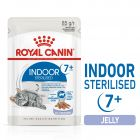 Royal Canin Indoor Sterilised 7+ în gelatină Hrană umedă