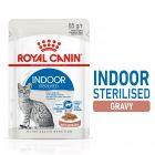Royal Canin Indoor Sterilised în sos Hrană umedă