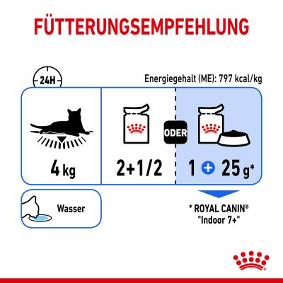 Royal Canin Indoor Sterilised 7+ szószban