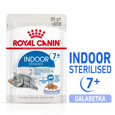 Royal Canin Indoor Sterilised 7+ w galarecie