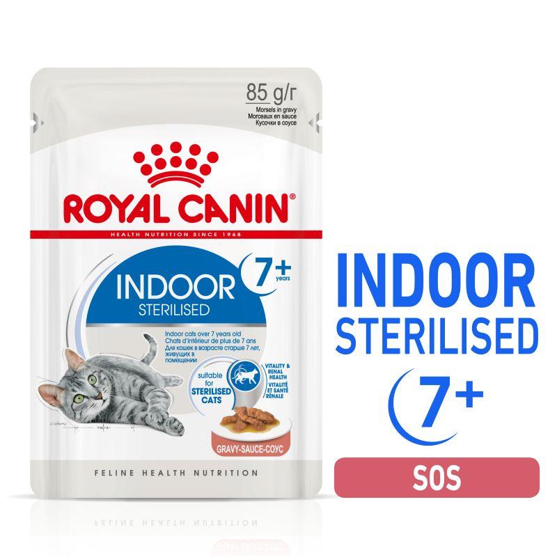 Royal Canin Indoor Sterilised 7+ w sosie