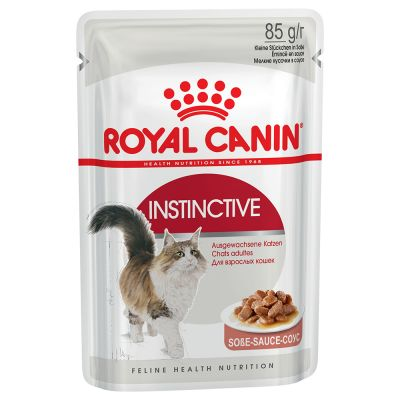 Royal Canin Instinctive en sauce pour chat