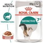 Royal Canin Instinctive +7 en sauce pour chat