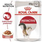 Royal Canin Instinctive în sos Hrană umedă