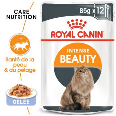 Royal Canin Intense Beauty en gelée pour chat