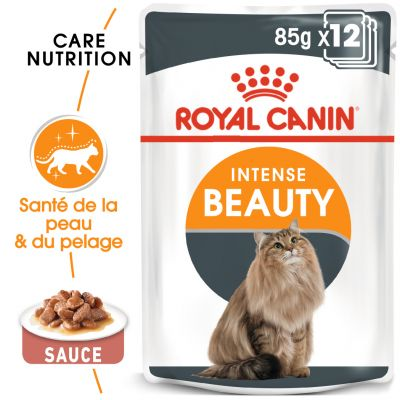 Royal Canin Intense Beauty en sauce