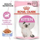 Royal Canin Kitten en gelée pour chaton