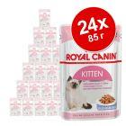 Смесена опаковка: 24 х 85 г консервирана храна Royal Canin Kitten Instinctive