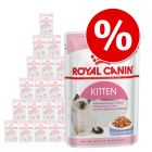 Royal Canin Kitten Instinctive Hrană umedă în pachet mixt