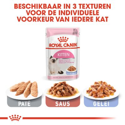 Royal Canin Kitten Instinctive in Gelei