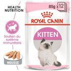 Royal Canin Kitten Loaf en mousse pour chaton