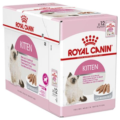 Royal Canin Kitten Loaf Mousse