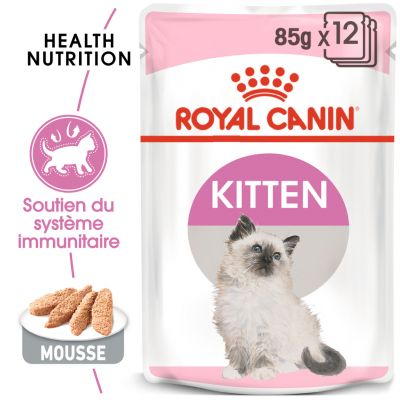 Royal Canin Kitten Mousse pour chat
