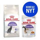 Royal Canin -kokeilupakkaus: 400 g + 12 x 85 g