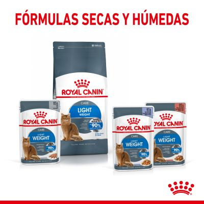 Royal Canin Light Weight Care en gelatina