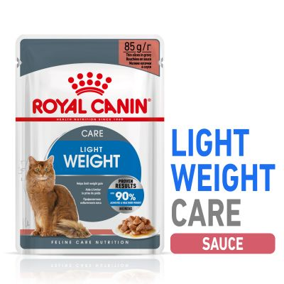 Royal Canin Light Weight Care en sauce