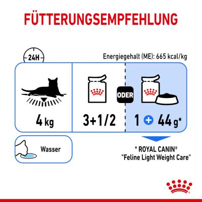 Royal Canin Light Weight Care in Saus Kattenvoer