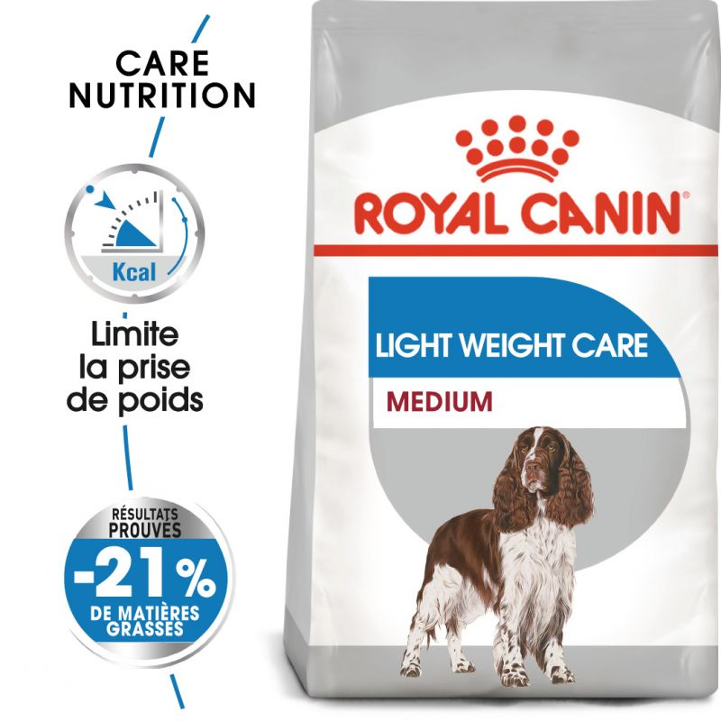 Royal Canin Medium Light Weight Care pour chien