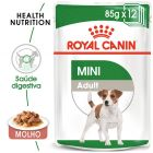 Royal Canin Mini Adult comida húmida para cães