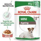 Royal Canin Mini Ageing comida húmida para cães